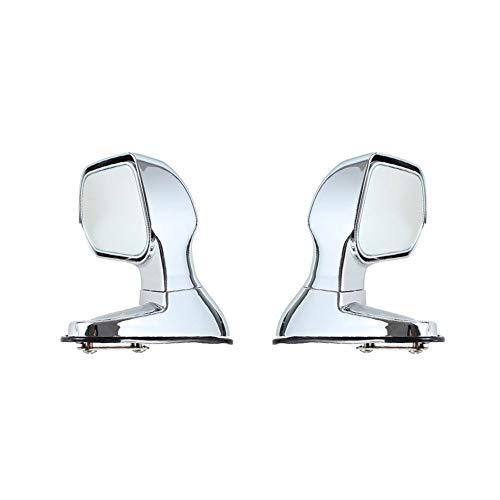 2pcs Del Coche De Punto Ciego Espejos De Plata Color De Costado Vista Posterior Con Espejo Plano Accesorios For Automóviles Gran Angular Espejos Retrovisores