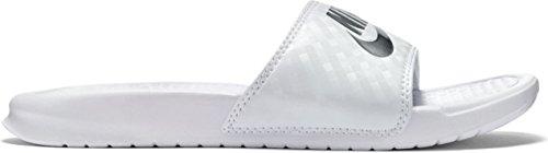 Nike Damen WMNS Benassi JDI 343881-102 Badeschuhe, Weiß (White, 40.5 EU