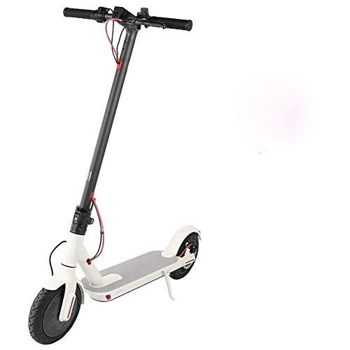 YYhkeby E-Scooter SPOOTER ELÉCTRICO PLATABLE DE E-Scooter Adulto de hasta 25 km / h Luces de Cola portátiles portátiles de 8,5 Pulgadas Jialele