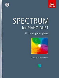 Spectrum for Piano Duet: with CD