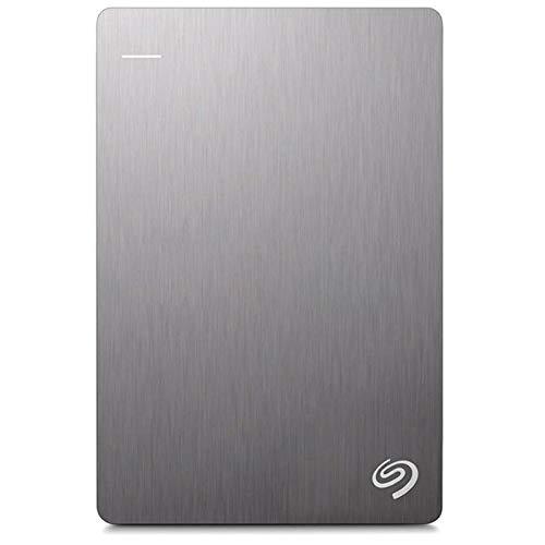 Hard Disk esterno, il sistema operativo riconosce automaticamente 1tb 2tb Backup Plus Slim Portable Storage Esterno, Adatto per Laptop Pc Desktop MacBook (Capacità: 2TB, Colore: Grigio)