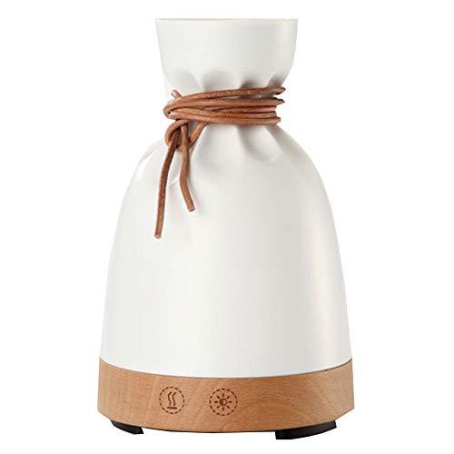 140ml Petit Sac Aromathérapie Humidificateur Chambre Veilleuse Spray,Woodcolor+Beige