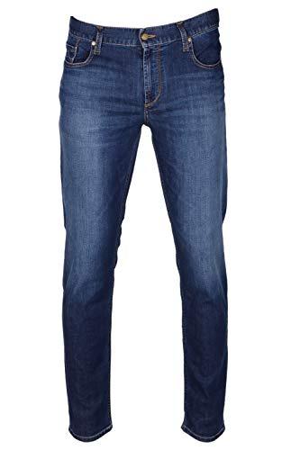 ALBERTO Herren Jeans Slipe Regular Slim fit 34/34