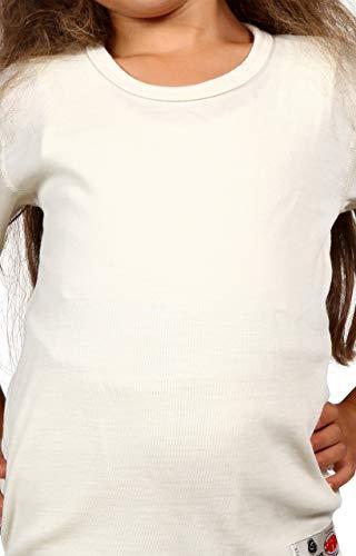 Miorre SAFYUN Unisex Thermo-Top aus Wolle mit hohem Wollanteil (1 Jahre)