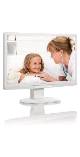 Philips C221S3UCW/00 54,6 cm (21,5 Zoll) Clinical Review - Monitor (USB, höhenverstellbar) antibakteriell weiß