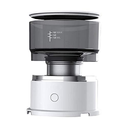 Baoblaze Mini máquina eléctrica para Hacer café expreso en Polvo con batería