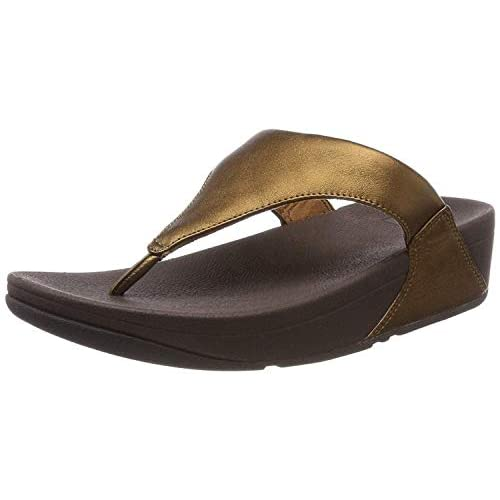 Fitflop Girl's Lulu Leather Toe-Post Sandals