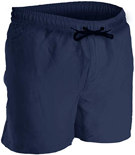 Men's Swim Trunks and Workout Shorts - XL - Navy - Perfect Swimsuit or Athletic Shorts for The Beach, Lifting, Running, Surfing, Pool, Gym. Boardshorts, Swimwear/Swim Suit for Adults, Men's Boys