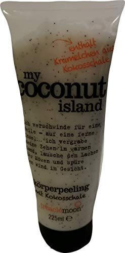 Treaclemoon my coconut island Körperpeeling mit Kokosschale 225 ml