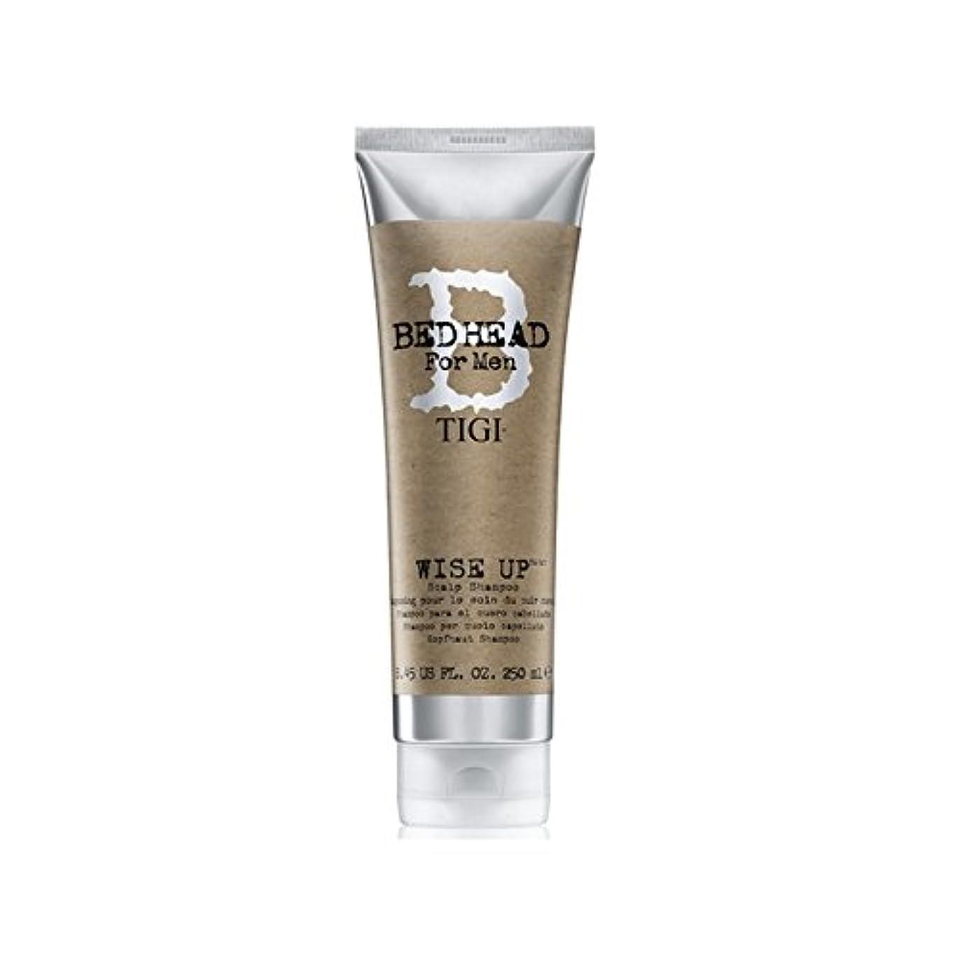 望むはげ争うTigi Bed Head For Men Wise Up Scalp Shampoo (250ml) - 賢明な頭皮シャンプー(250ミリリットル)までの男性のためのティジーベッドヘッド [並行輸入品]