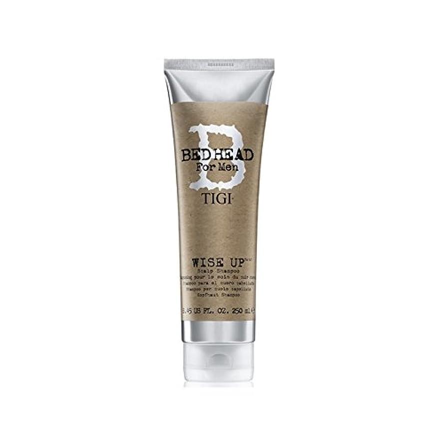 自分でる一緒Tigi Bed Head For Men Wise Up Scalp Shampoo (250ml) - 賢明な頭皮シャンプー(250ミリリットル)までの男性のためのティジーベッドヘッド [並行輸入品]