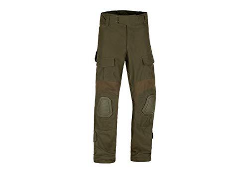 Invader Gear Predator Combat Pants Kampfhose Airsoft Army Paintball Outdoor Rippstop Hosen (S, Ranger Green)