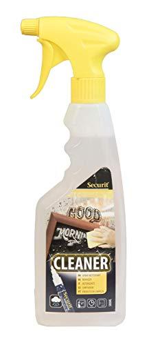 Vermes Securit SECCLEAN-KL Reinigungsspray für Kreidemarker, 500 ml, entfernt rückstandslos wasserlösliche und wasserfeste Flüssigkreide von non-porösen Oberflächen