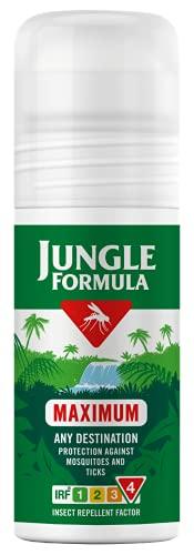 Jungle Formula Maximal insektsavvisande rulle på med DEET, 50 ml