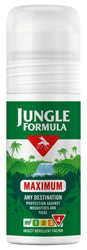 Jungle Formula Maximum Insect Repellent Roll On with DEET, 50 ml