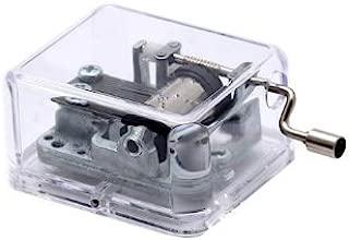 Spirited Away Tune (Always with Me) Mini Crank Music Box (Silver)