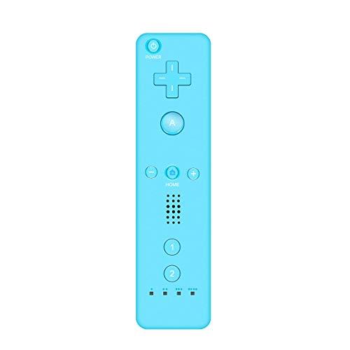 YanFeng Mando a distancia de repuesto para juegos, mando inalámbrico compatible con el mando a distancia de Wii, con correa de muñeca para el hogar, regalo