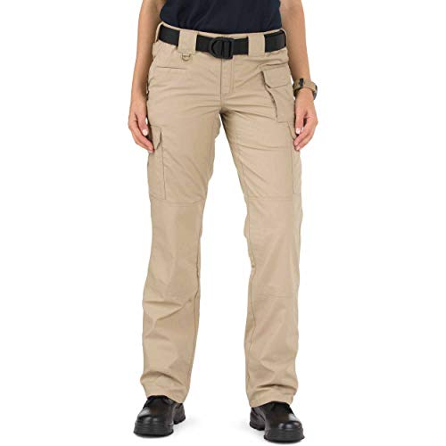 5.11 Women's Taclite PRO Tactical Pants, Style 64360, TDU Khaki, 18/Regular