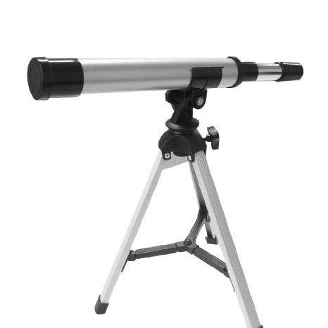 Kids Astronomy Spy and Learn Telescope Children, Kids, Game - Improved Lens Design For 2015 - White Nipon...