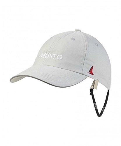 Musto Segelcap Fast Dry Crew Cap, Farbe:platinum