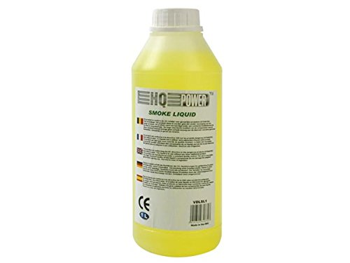 HQ Power Standard Smoke Liquid 1L Blanco, Amarillo - Máquina de Humo