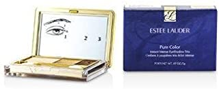 Estee Lauder Pure Color Instant Intense Eyeshadow Trio - # 05 Gilded Chocolates for Women