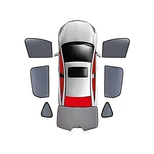 Parasol De Coche Ventana Lateral para Volvo XC40 2018 2019, Transpirable Cortinas Parasoles MagnéTico Persianas Antimosquitos Malla Sun Shade Cobertura Proteger Del Sol BebéS y Mascotas