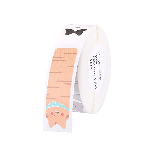 Aibecy 160pcs Thermal Paper Rolls Thermal Printing Label Paper Barcode Labels Waterproof Tear Resistant 1240mm