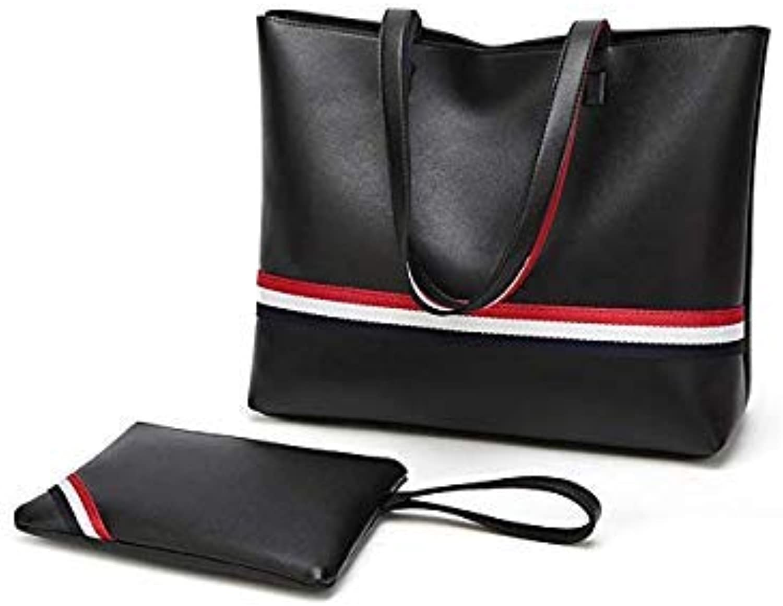 Bloomerang New Women's Handbag Fashion Shoulder Bag Messenger Bag Tote Bag and Coin Purses Luxury Handbags Women Designers color Black