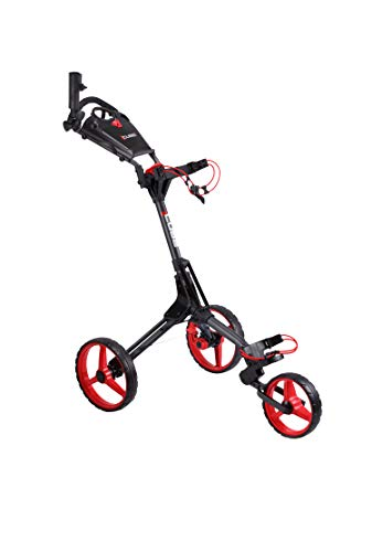 Cube CART 3 Wheel Push Pull Golf CART - Two Step Open/Close...