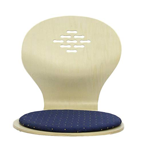 Decoración del hogar (4 unidades/lote) silla japonesa de piso sentada negro/cereza/muebles de sala de estar natural Tatami Zaisu piso sin piernas silla al por mayor (color: gris claro)