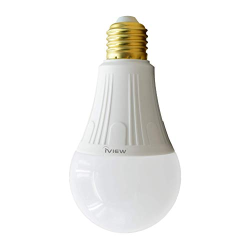 IVIEW-ISB800 Smart WiFi LED Light Bulb, Multi Color, Dimmable, No Hub Required, Free APP Remote Control, Compatible with Amazon Alexa & Google Assistant