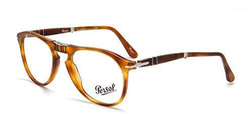 Persol Für Mann 9714vm Folding Terra Di Siena Kunststoffgestell Brillen, 52mm