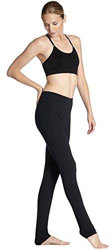 YTASN Zwart ademend ultra slank hip beweging snelheid kogel om yoga broek te doen