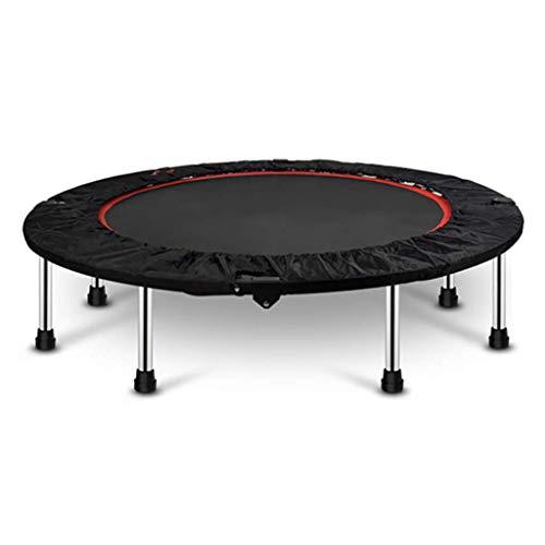 PNFP Ronde trampoline frame met veiligheidspad, volwassen/kinderen/tieners springmat voor binnen, 40 inch/48 inch/50 inch