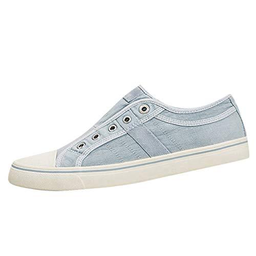 YWLINK Zapatillas De Lona De Gran TamañO para Mujer, Zapatos Lok...