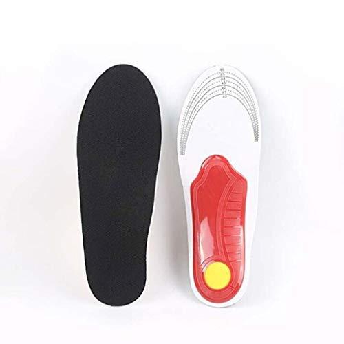 Fersensporn Einlagen Orthopädische Geleinlagen für Schuhe - Gel Einlegesohlen zur Schmerzreduktion - Bequeme Profi Schuheinlagen - Einlagen Fersensporn Orthopedic Insole (L)