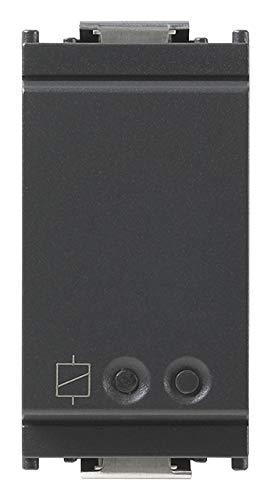 Vimar 16493 Idea actuador conectado IoT VIEW inalámbrico con salida de relé NO 16 A, control local y remoto, doble tecnología en estándar Bluetooth 5.0 y Zigbee 3.0
