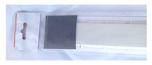 Abschlußkappe für Fensterbänke, InStyle-Blende Type 4 H-grau VE1 ca. 4 cm breit