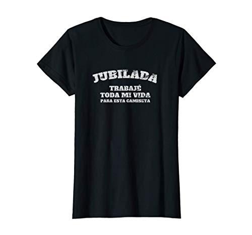 Mujer Jubilada 2021 Divertido Original Regalo Jubilación Mujeres Camiseta