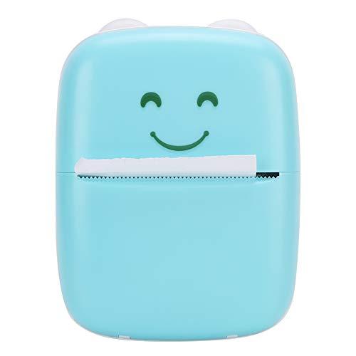 Impresora de preguntas de ejercicios, impresora de bolsillo USB rápida con Bluetooth, para...