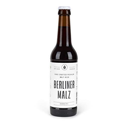 Malzbier Bio Berliner Malz | Alkoholfrei Ökologisch Vegan | 12 x 330 ml Flasche