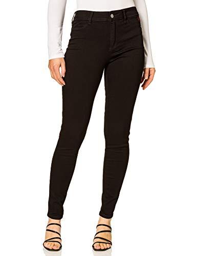Desigual Denim_2SKIN I Pantalones Informales, Negro, 31 para Mujer