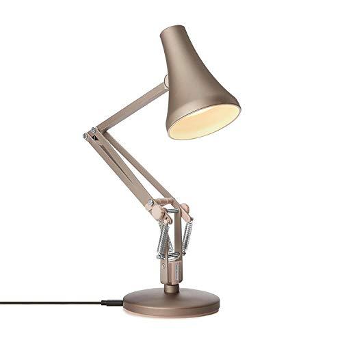 90 Mini lampada da tavolo argento caldo & blush Anglepoise