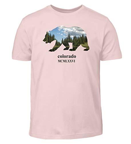 Colorado - Camiseta infantil con diseño de oso Rosa Sixties 152/164 cm