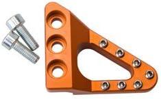 Clean Speed Dropped 25% OFF Brake Pedal Pad Ad 1290 Orange KTM Super for Direct sale of manufacturer