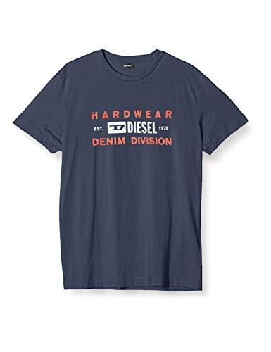 Diesel T Diego T-Shirts & Poloshirts Herren Marine - M - T-Shirts Shirt