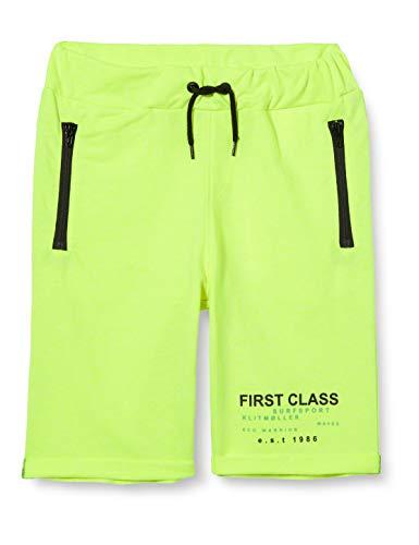 NAME IT Jungen NKMHORNSHARK Sweat UNB Shorts, Safety Yellow, 134