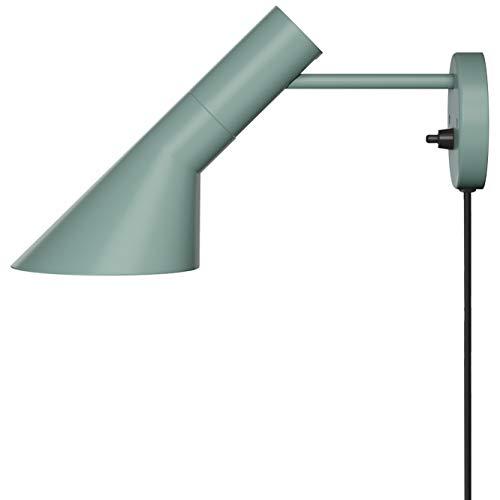 AJ Wall Lamp, Louis Poulsen, Lámpara de Pared Diseñada por Arne Jacobsen (Petróleo Pálido)