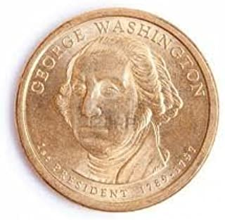 2007 George Washington Presidential $1 Coin - First President, 1789-1797
